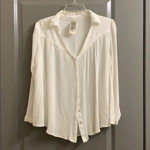 Free People top. Size S